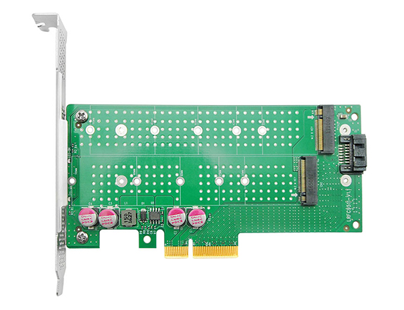 PCIe NVMe SSD Adapter for M.2