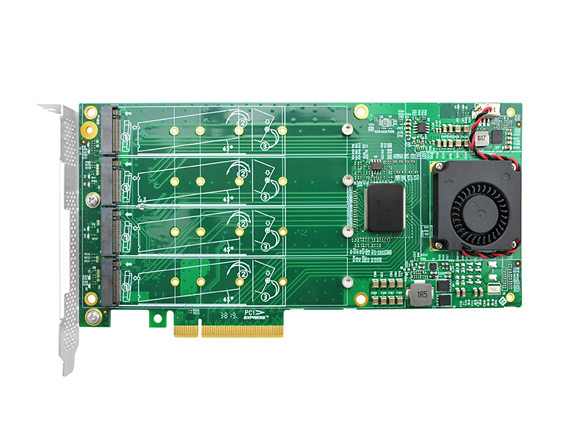 PCIe Switch Adapter for M.2