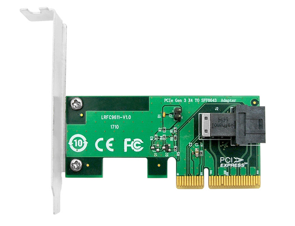 PCIe NVMe SSD Adapter for U.2