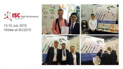 ISC 15 is continuing, 10Gtek expects your more attention and cooperation